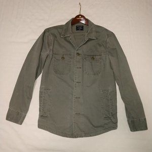 Abercrombie & Fitch Military Green Jacket